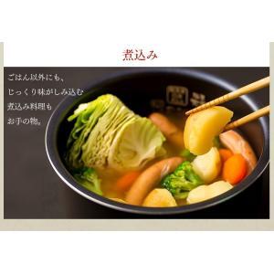 炊飯器 5.5合 アイリスオーヤマ 炊飯ジャー 米 おいしい 銘柄炊き IH ジャー ブラック 米屋の旨み RC-IE50-B|takuhaibin|09