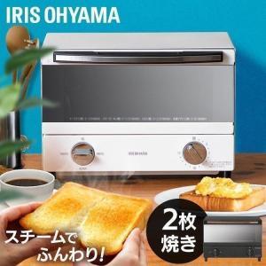 トースター 2枚 オーブントースター オーブン スチームオーブントースター 2枚焼き ホワイト スチーム 安い SOT-011-W アイリスオーヤマ|takuhaibin