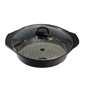 土鍋風蒸し器 25cm KS-2789|takuhaibin