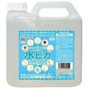 洗剤 アルカリ電解水 水ピカ 2L クリーナー 高濃度(pH13.1) お掃除 洗剤 掃除用 クリーナー 電解水|takuhaibin
