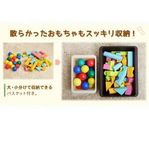 おもちゃ 収納 おもちゃ箱 トイハウスラック おもちゃ収納 収納ボックス 本棚付トイハウスラック HTHR-34 アイリスオーヤマ|takuhaibin|07