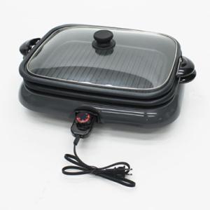 ホットプレート 2枚組 平面 焼肉プレート HK-1200 調理家電 ホームパーティ|takuhaibin