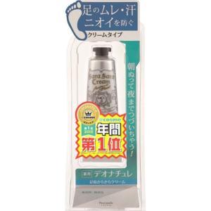 足特有のニオイとムレを考え開発された、クリームタイプの足用「直(ジカ)ヌリ」防臭制汗剤。 処方を変更...