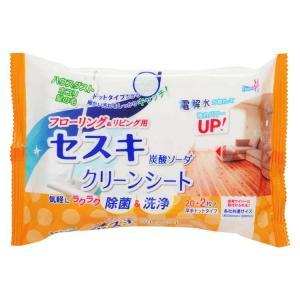セスキ炭酸ソーダシート クリーンシート リビング用 22枚  掃除用品 掃除 友和 (D)|takuhaibin