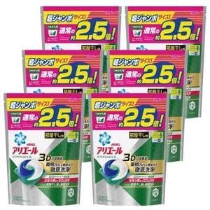 アリエール ジェルボール 洗剤 詰め替え 6個セット リビングドライジェルボール3D 超ジャンボサイズ 44個入 P&G (D)|takuhaibin