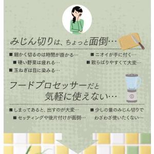 チョッパー フードチョッパー 手動 ホワイト キッチンツール 便利 CTC-A370 (D)|takuhaibin|02