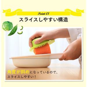 スライサーセット キッチンツール 手動 野菜 おろし 調理 ホワイト CTC-B479 (D)|takuhaibin|06