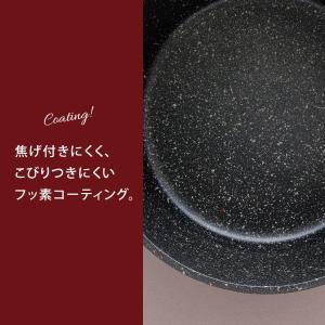 両手鍋 24cm 鍋 なべ ブラック 調理器具 おしゃれ THP-24 (D)|takuhaibin|05