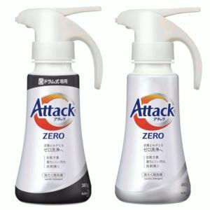 アタックZERO ワンハンドタイプ 400g ドラム式専用 ワンハンドタイプ 380g花王 洗たく用洗剤 液体洗剤|takuhaibin