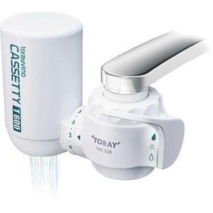 トレビーノ 浄水器 蛇口直結型 カセッティシリーズ 蛇口直結型浄水器本体 MK308T 東レ (TC)|takuhaibin
