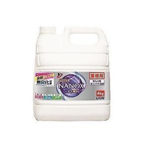 洗濯用洗剤 NANOX 業務用トップス−パ−NANOXニオイ専用 4kg   ライオン takuhaibin