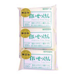玉の肌無添加白い石鹸 108GX3コ D...