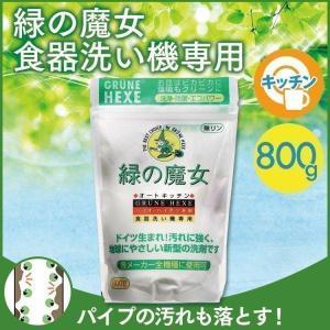ドイツ生まれの汚れに強く、地球にやさしい洗剤シリーズ「緑の魔女」 当洗剤の配合成分は環境を汚さないも...