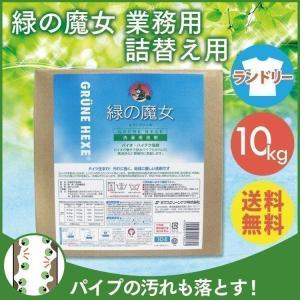 緑の魔女 ランドリー10L 詰替バッグインボックス入 ミマスクリ−ン|takuhaibin