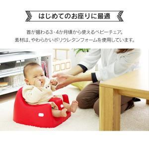 ベビーチェア 椅子 カリブ ソフトチェアー トレイ付き(D) takuhaibin 02