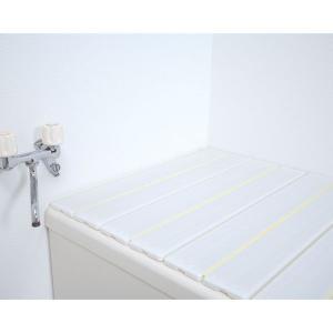 風呂ふた 70*80cm 折りたたみ式風呂フタ OFG-7008 パールホワイト アイリスオーヤマ バス用品|takuhaibin|02