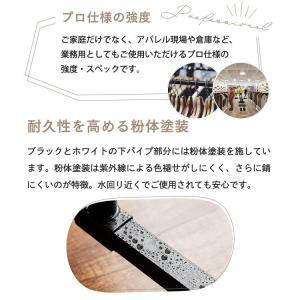パイプハンガー 2段 【耐荷重116kg】 CW3001-78 コートハンガー ハンガーラック 頑丈 洋服掛け 高耐荷重 アイリスオーヤマ|takuhaibin|09