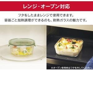 イワキ iwaki 保存容器 耐熱ガラス おしゃれ パック&レンジ 7点セット ジャー  ふた ガラス 食品 ストック PSC-PRN-G7 ガラス製 タッパー 7点|takuhaibin|06