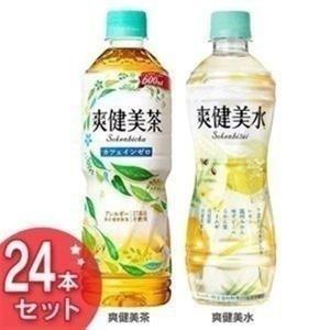 爽健美茶 600mlPET・爽健美水 PET 500ml お茶 24本セット コカ・コーラ コカコーラ (代引不可)(TD)|takuhaibin