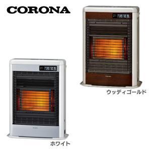 石油ストーブ ファンヒーター FF式 石油暖房機 スペースネオミニ FF-SG4218M-W コロナ (D)|takuhaibin