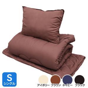 布団セット 【シングル】 ベッド用ふわとろ4点セ...の商品画像