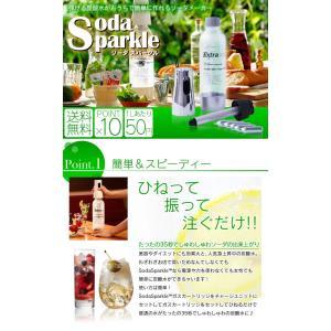 ソーダメーカー 1.0Lボトル スターターキット|takuhaibin|02