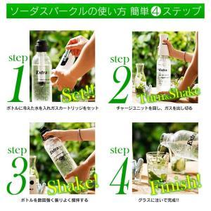 ソーダメーカー 1.0Lボトル スターターキット|takuhaibin|03