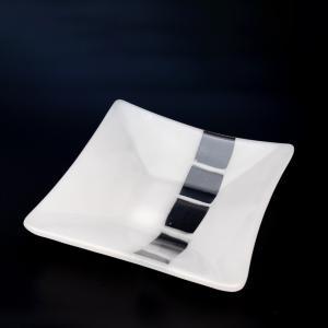 サブロウ 角深鉢(中) ガラス器 皿