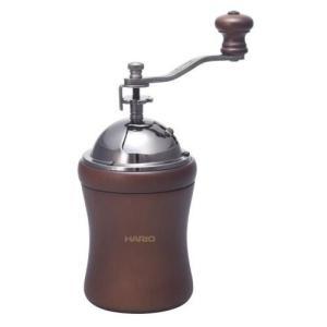コーヒーを淹れるための大切な準備 セラミック製の臼は摩擦熱が発生しにくく、熱によるコーヒー粉へのダメ...
