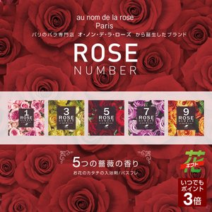 ROSE NUMBER フレグランスBOX 花のカタチの入浴剤 贈り物 プレゼント ギフト 母の日 花 ボックスアレンジ|takumikikaku
