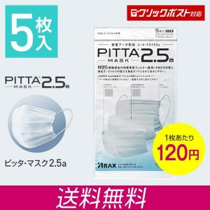 PITTA MASK 2.5a 5枚入(ピッタマスク 2.5...