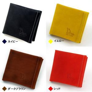 Divin デュヴァン 二つ折り財布 DV-014 レザーウォレット 折財布 グローブ用レザー使用|takumis