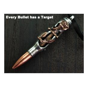 Bullets 4 Peace Sward In Cross PB-04 銃弾ペンダント ブレッツフォーピース|takumis