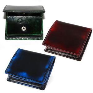 PARLEY パーリィー クラシック BOX型小銭入れ PC-12 日本製 キップレザー パーリィー...
