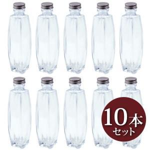 ハーバリウム トノー型ガラス瓶 200cc 10本セット キャップ付 硝子ビン 樽型 透明瓶 花材 ウエディング プリザーブドフラワー インスタ SNS インテ|takumis