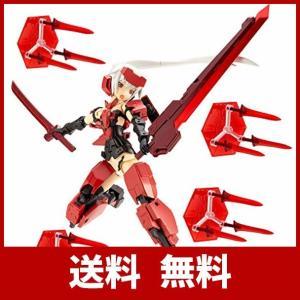 フレームアームズ・ガール迅雷は「和」をイメージした「赤」と「黒」を基調とし、付属するウェポンユニット...