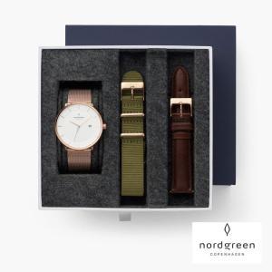 レディース 腕時計 北欧 ギフト Nordgreen ノードグリーン Philosopher メッシ...