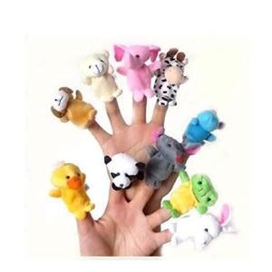 指人形 動物 10種類セット|takuta2