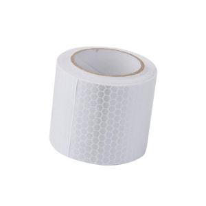 白 高輝度 反射テープ ステッカー 自己 接着ビニール 5cm  3m|takuta2