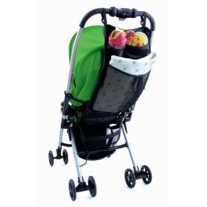 ダイヤコーポレーション ベビーカー&カーシート対応 3ポケットバッグ|takuta2