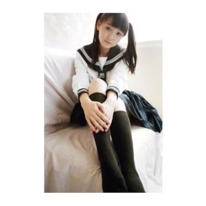 セーラー服 長袖 コスチューム 白x紺 Mサイズ|takuta2