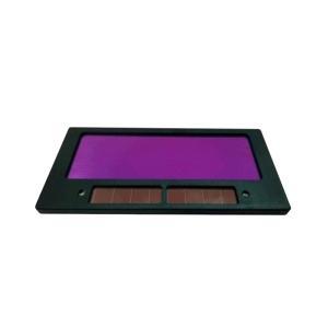 溶接面をグレードアップ! 液晶式 自動遮光 交換レンズ 太陽電池|takuta2