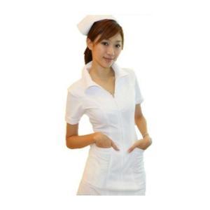 ナース コスプレ 看護婦 衣装セット。  サイズ:フリーサイズ  バスト:86〜102cmウエスト:...
