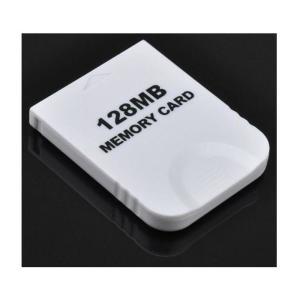 大容量【2043ブロック/128MB】Wii/ゲームキューブ対応 メモリーカード【ホワイト】|takuta2