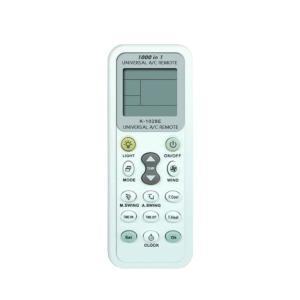 各社共通1000機種対応エアコン用マルチリモコンNewタイプ 自動検索&手動検索のダブル設定機能付 自動・冷房・除湿・送風・暖房 5段階【日本語説明書付】