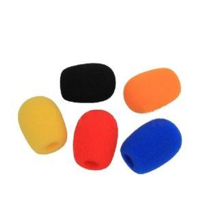 ヘッドセット インカム マイクスポンジ カラー 5色セット|takuta2