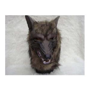 Treasure Mart 本物そっくり狼のリアルマスク 犬も吠えます  お面|takuta2
