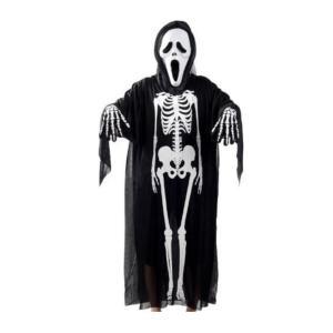スケルトンゴースト マント 大人用 ハロウィン グッズ Halloween 幽霊 仮装アイテム ハロウィンコスプレ衣装・道具 ガイコツになって皆をビックリさせよう!|takuta2