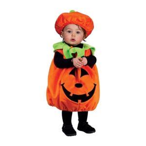 Soft and Comfy Pumpkin Infant Costume ソフトで快適なカボチャ幼児コスチューム サイズ:Infant  Up to 24M|takuta2