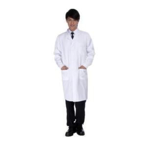 超本物志向 メンズドクターコスプレ本物の男性用医師医者白衣長袖 アウトレット サイズM|takuta2